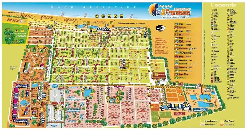 Mappa San Francesco