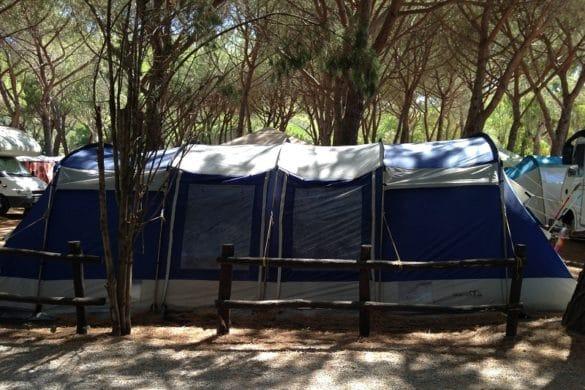 tenda da campeggio scelta