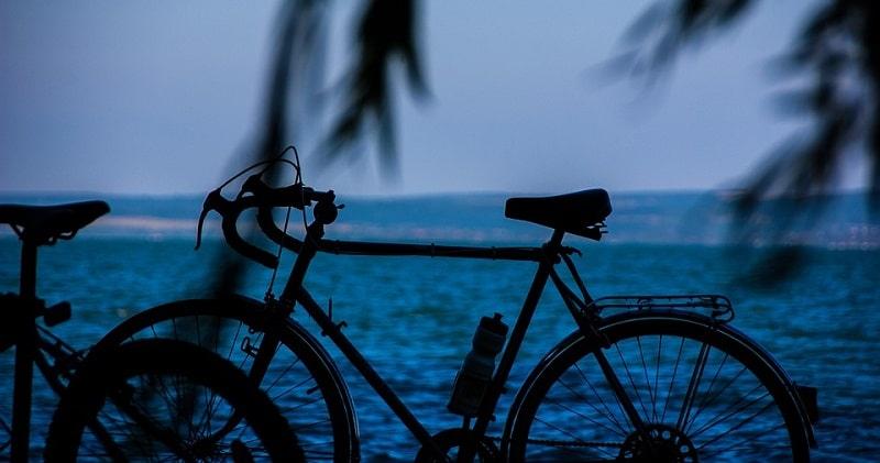 biclietta e campeggio in Abruzzo