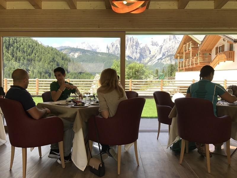 ristorante con vista