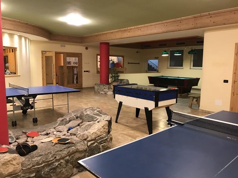 sala giochi indoor