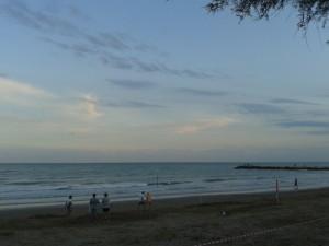 San Francesco spiaggia di sera 2