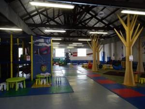 area giochi interna a volandia