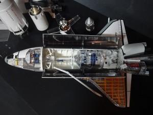 modellino spazio Volandia