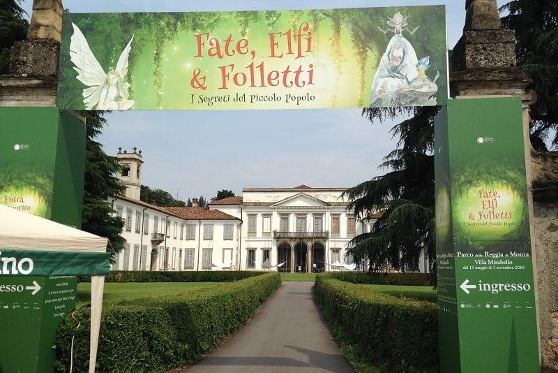 Fate, elfi e folletti a villa mirabello
