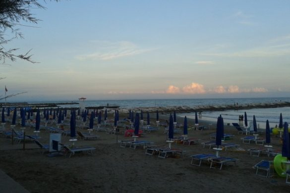 San Francesco spiaggia di sera 3
