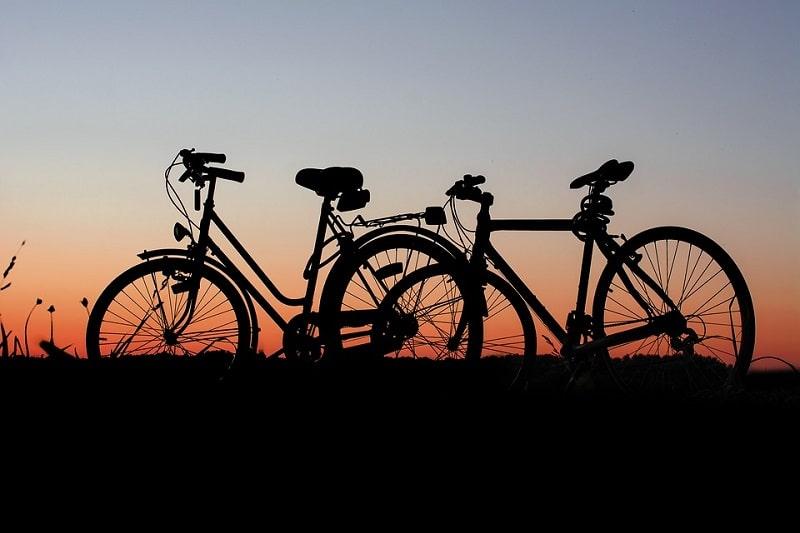 bicicletta e campeggio