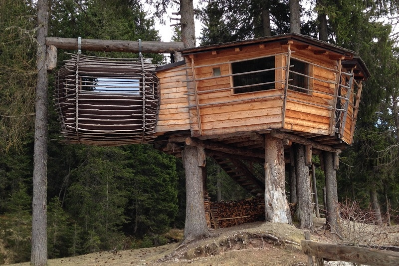 casa sull'albero sexten